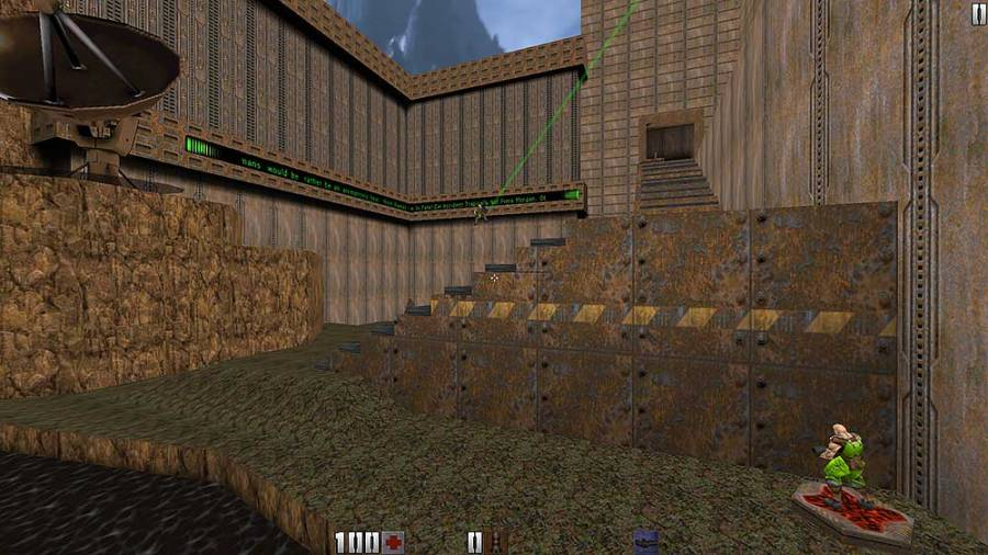 retro gaming archive quake 2 id software tim willits monster kill railgun railwarz q2ctf dondeq2