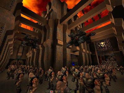 retro gaming archive quake 2 id software tim willits monster kill railgun railwarz q2ctf dondeq2 strogg