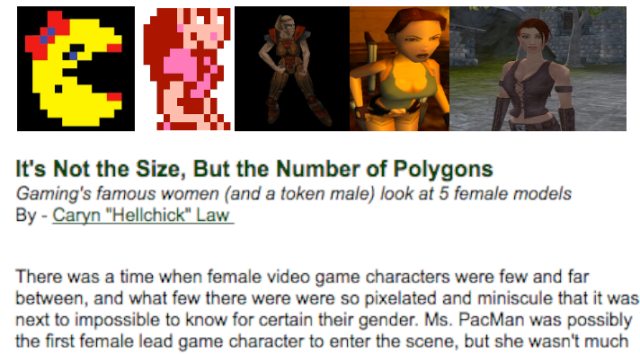 femalegamemodels