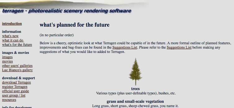 terragen 4 trees