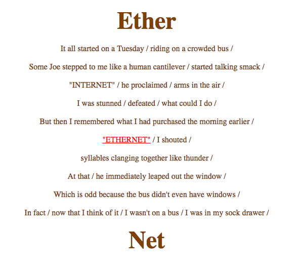 Ether Net