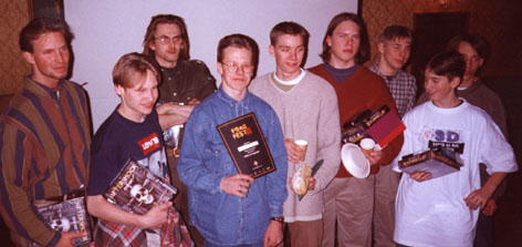 fragfest 96 - First prize a diploma and a Computer