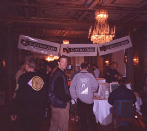 FragFest96 - Banners and Quake logos everywhere