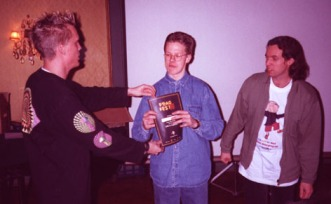 FragFest96 - First prize a diploma and a Computer