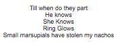 monkey poem 1