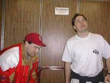 DC-Con 2 recreation of the famous the famous avatar kreuzin elevator shot