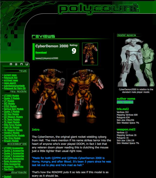 cyberdemon 2000 by john gordon