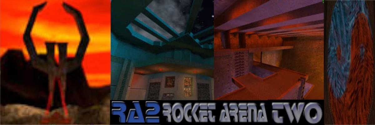 Mahq Multi Arena Headquarters Rocket Arena Two Maps Donde Quake 2