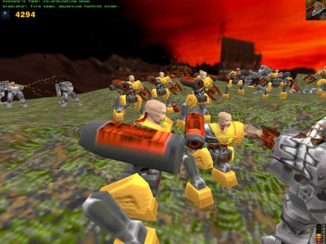 Quake and Conquer: a Real-Time Strategy Game set inside the