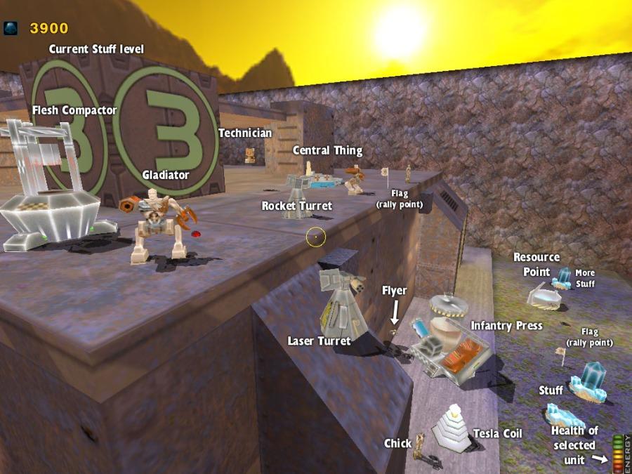 Quake and Conquer: a Real-Time Strategy Game set inside the Quake 2